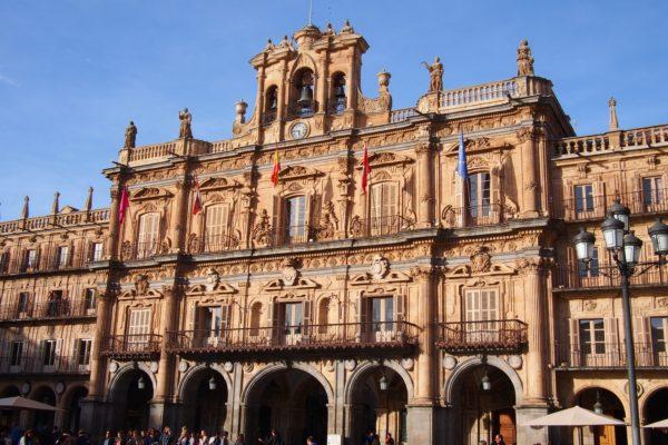 サラマンカ 広場 大聖堂